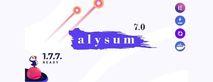 Alysum thème Prestashop AMP Google