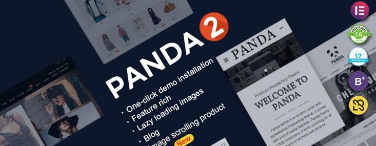 Panda pour prestashop avec un blog qui est modifiable via Elementor