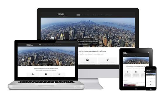 theme-wordpress-adamos-responsive-gratuit