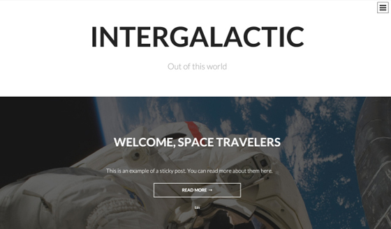 theme-wordpress-intergalactic-responsive-gratuit