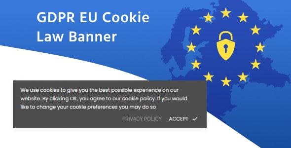 Module Prestashop GDPR EU cookie law banner