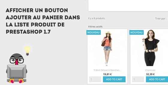 Prestashop 1.7  Bouton ajouter au panier sur le listing produit 43e68043fac9