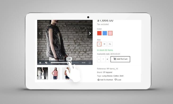 PrestaShop product videos module