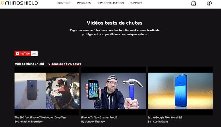 Réassurer vos utilisateurs sur votre boutique avec des vidéos d'utilisateurs