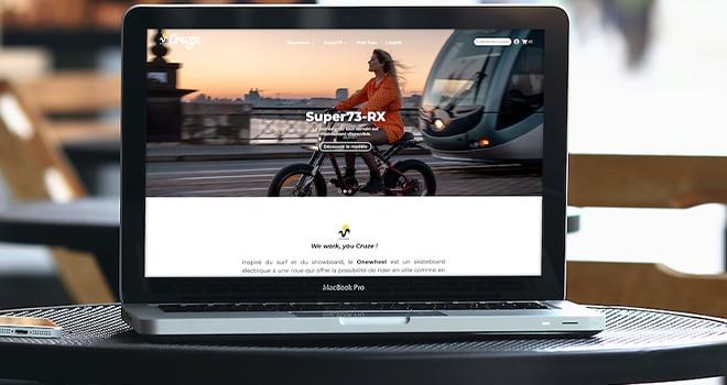 Projet Prestashop de la marque Cruze à Bordeaux